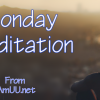 Monday Meditation from IAmUU.net